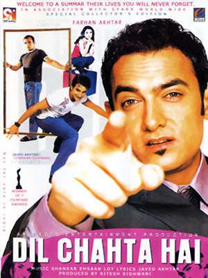 Tính Cách Riêng Biệt Dil Chahta Hai.Diễn Viên: Aamir Khan,Saif Ali Khan,Akshaye Khanna,Sonali Kulkarni,Dimple Kapadia,Ayub Khan
