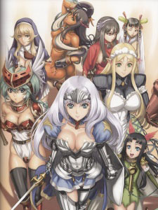 Queens Blade Ss3 - Rebellion Việt Sub (2012)