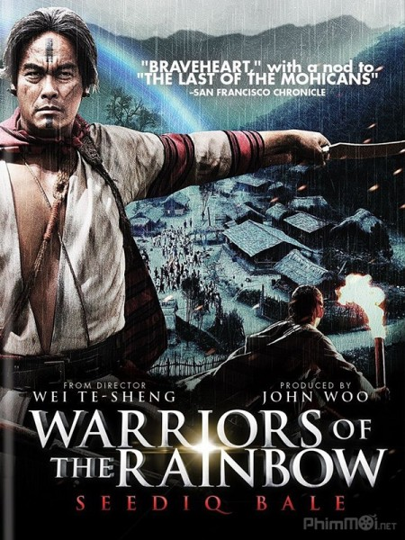Hào Khí Chiến Binh 2 Warriors Of The Rainbow: Seediq Bale.Diễn Viên: James Mcavoy,Forest Whitaker,Gillian Anderson,Kim Coates,Jordan Ladd,James Debello,Rider Strong