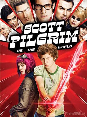 Scott Pilgrim Chống Lại Cả Thế Giới Scott Pilgrim Vs The World.Diễn Viên: Ohn Leguizamo,Michael Jai White,Martin Sheen