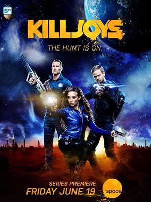 Đội Săn Tiền Thưởng Killjoys Season 1.Diễn Viên: Thom Allison,Tamsen Mcdonough,Aaron Ashmore