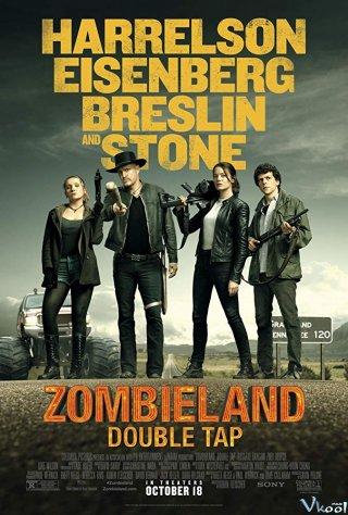 Vùng Đất Thây Ma: Cú Bắn Đúp Zombieland: Double Tap.Diễn Viên: Martin Lawrence,Brandon T Jackson,Jessica Lucas,Michelle Ang,Portia Doubleday,Emily Rios
