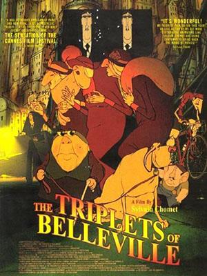 Bộ Ba Của Làng Người Đẹp The Triplets Of Belleville.Diễn Viên: Michèle Caucheteux,Jean,Claude Donda,Michel Robin