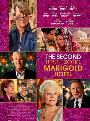Khách Sạn Hoa Cúc Vàng Nhiệt Đới The Second Best Exotic Marigold Hotel.Diễn Viên: Judi Dench,Maggie Smith,Bill Nighy