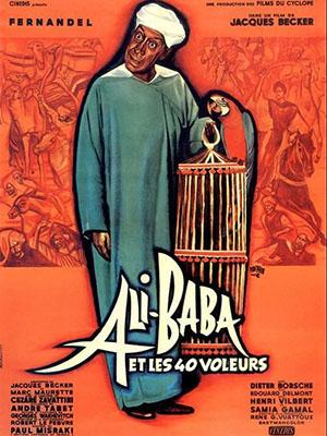 Alibaba Và 40 Tên Cướp Ali Baba And The Forty Thieves.Diễn Viên: Fernandel,Samia Gamal,Dieter Borsche