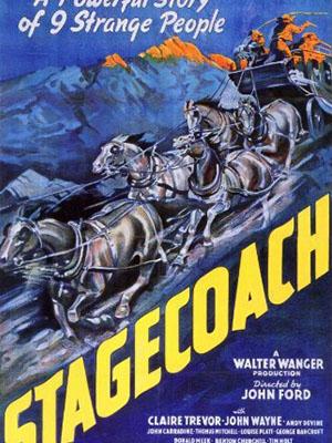 Chuyến Xe Bão Táp Stagecoach.Diễn Viên: John Wayne,Claire Trevor,Andy Devine
