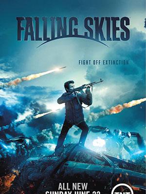 Bầu Trời Sụp Đổ Phần 4 Falling Skies Season 4.Diễn Viên: Noah Wyle,Maxim Knight,Drew Roy