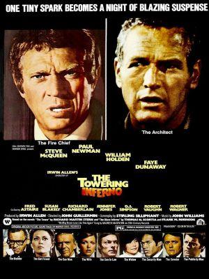 Tòa Tháp Địa Ngục The Towering Inferno.Diễn Viên: Paul Newman,Steve Mcqueen,William Holden