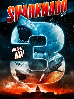 Bão Cá Mập 3 Sharknado 3 Oh Hell.no.Diễn Viên: Casper Van Dien,Bryan Head,Keith Meriweather
