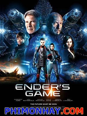 Cuộc Đấu Của Ender Enders Game.Diễn Viên: Harrison Ford,Asa Butterfield,Hailee Steinfeld