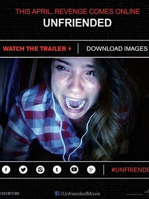 Hủy Kết Bạn: Người Bạn Ma Unfriended: Cybernatural.Diễn Viên: Heather Sossaman,Matthew Bohrer,Courtney Halverson