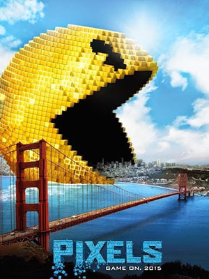 Cuộc Tần Công Điểm Ảnh Đại Chiến Pixels.Diễn Viên: Adam Sandler,Kevin James,Michelle Monaghan