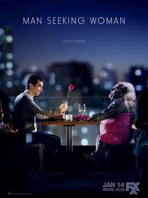 Hành Trình Tìm Gấu Phần 1 Man Seeking Woman Season 1.Diễn Viên: Jay Baruchel,Eric André,Britt Lower