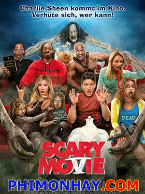 Liên Khúc Phim Kinh Dị 5 Scary Movie 5.Diễn Viên: Ashley Tisdale,Simon Rex,Charlie Shee