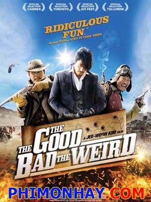 Thiện Ác Quái The Good The Bad The Weird.Diễn Viên: Jung Woo Sung,Lee Byung Hun,Song Hang Ko