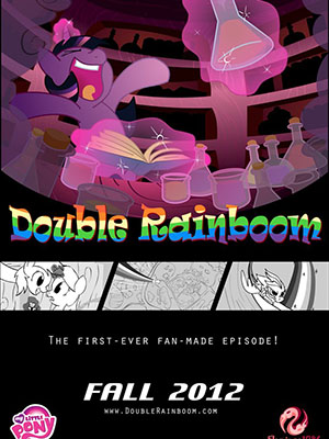 Double Rainboom Mlpfim.Diễn Viên: Luci Christian,Colleen Clinkenbeard And Pam Dougherty