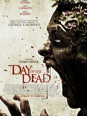 Ngày Kinh Hoàng Day Of The Dead.Diễn Viên: Mena Suvari,Nick Cannon,Michael Welch,Cuba Gooding Jr,Stacey Martin,Peter Michael Dillon,Lara Daans