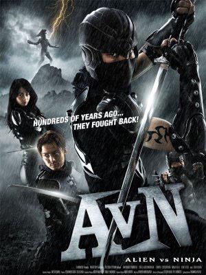 Quái Vật Không Gian Đối Đầu Ninja - Alien Vs Ninja