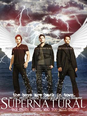 Siêu Nhiên Phần 4 Supernatural Season 4.Diễn Viên: Jared Padalecki,Jensen Ackles,Jim Beaver