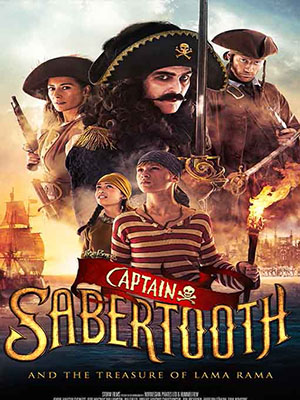Thuyền Trưởng Răng Kiếm Và Kho Báu Của Rama Captain Sabertooth And The Treasure Of Lama Rama.Diễn Viên: Salma Hayek,Adam Sandler,Kevin James,Rob Schneider,Chris Rock