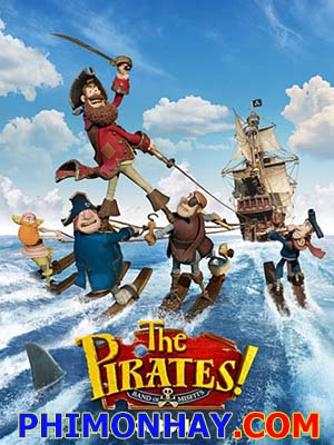 Hoa Vương Hải Tặc The Pirates Band Of Misfits.Diễn Viên: Hugh Grant,Salma Hayek,Jeremy Piven