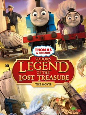 Huyền Thoại Về Kho Báu Bị Mất Của Sodor Thomas And Friends: Sodors Legend Of The Lost.Diễn Viên: Eddie Redmayne,Jamie Campbell Bower,John Hurt