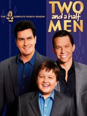 Two And A Half Men Season 4 Hai Người Đàn Ông Rưỡi Phần 4.Diễn Viên: Jon Cryer,Ashton Kutcher,Angus T Jones