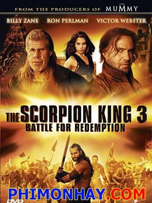 Vua Bò Cạp 3: Trả Nợ Trận Chiến The Scorpion King 3: Battle For Redemption.Diễn Viên: Dave Bautista,Bostin Christopher,Tanapol Chuksrida