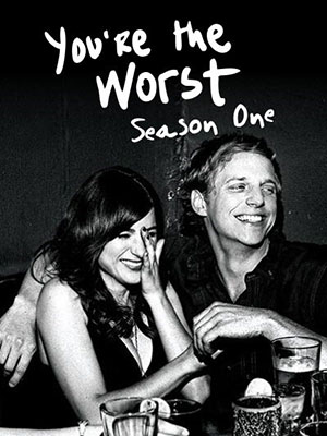 Anh Chàng Tồi Tệ Phần 1 Youre The Worst Season 1.Diễn Viên: Chris Geere,Aya Cash,Desmin Borges