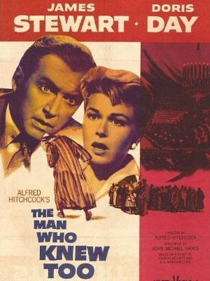 Người Đàn Ông Biết Quá Nhiều The Man Who Knew Too Much.Diễn Viên: James Stewart,Doris Day,Brenda De Banzie