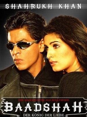 Thám Tử Baadshah Baadshah.Diễn Viên: Rakhee Gulzar,Shah Rukh Khan,Twinkle Khanna