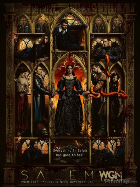 Thị Trấn Phù Thủy Phần 3 Salem Season 3.Diễn Viên: Matt Bomer,Tim Dekay,Willie Garson