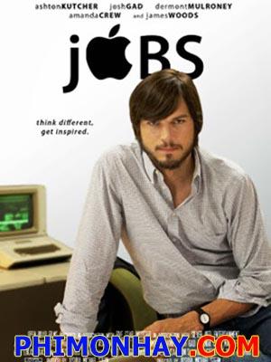 Huyền Thoại Steve Jobs Jobs.Diễn Viên: Ashton Kutcher,Dermot Mulroney,Josh Gad