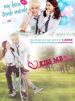 Nụ Hôn Định Mệnh Kiss Me.Diễn Viên: Mike Angelo,Aom Sushar