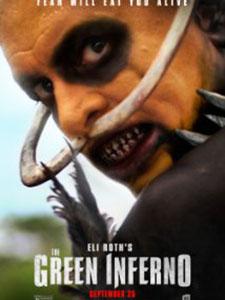 Bộ Lạc Ăn Thịt Người Địa Ngục Xanh: The Green Inferno.Diễn Viên: Lorenza Izzo,Ariel Levy,Aaron Burns