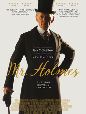 Thám Tử Holmes Mr. Holmes.Diễn Viên: Ian Mckellen,Laura Linney,Hiroyuki Sanada