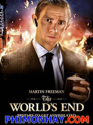 Kết Thúc Của Thế Giới The Worlds End.Diễn Viên: Simon Pegg,Nick Frost,Martin Freeman