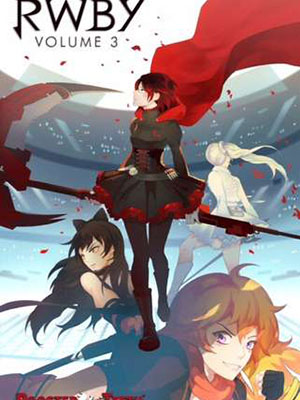 Red White Black Yellow Ss3 Nữ Sát Thủ Rwby Volume 3