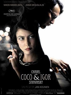Coco Và Igor Coco Chanel & Igor Stravinsky.Diễn Viên: Anna Mouglalis,Mads Mikkelsen,Elena Morozova