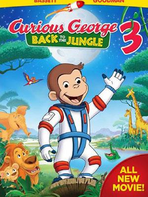 Chú Khỉ Tinh Nghịch 3: Thả Khỉ Về Rừng Curious George 3: Back To The Jungle.Diễn Viên: Angela Bassett,Jeff Bennett,John Goodman