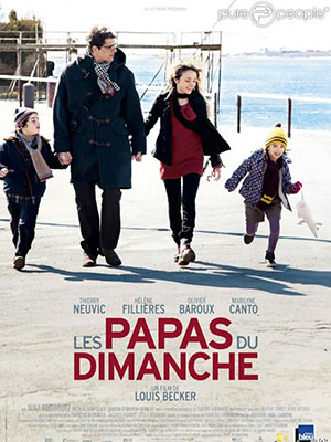 Tổ Ấm Thân Yêu Les Papas Du Dimanche.Diễn Viên: Thierry Neuvic,Hélène Fillières,Olivier Baroux