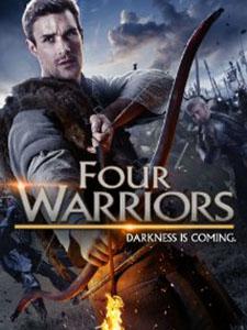 Chiến Binh Thập Tự Chinh The Four Warriors.Diễn Viên: Christopher Dane,Hadrian Howard,Fergal Philips