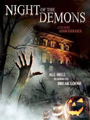 Đêm Của Quỷ Dữ Night Of The Demons.Diễn Viên: Tatyana Kanavka,Michael Arata And Shannon Elizabeth