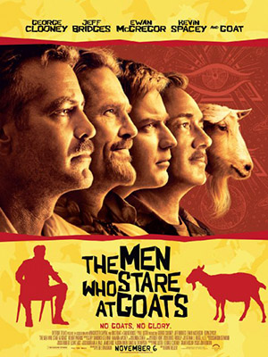 Những Tay Soi Dê The Men Who Stare At Goats.Diễn Viên: Ewan Mcgregor,George Clooney And Kevin Spacey