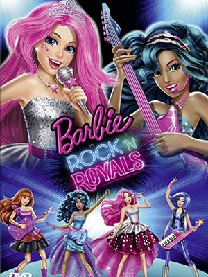 Barbie Và Nhạc Hội Hoàng Gia Barbie In Rock n Royals.Diễn Viên: Kelly Sheridan,Chiara Zanni,Bethany Brown
