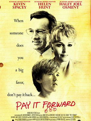 Đáp Đền Tiếp Nối Pay It Forward.Diễn Viên: Kevin Spacey,Haley Joel Osment And Helen Hunt