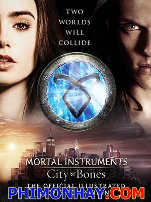 Vũ Khí Chết Người: Thành Phố Xương The Mortal Instruments: City Of Bones.Diễn Viên: Lily Collins,Jamie Campbell Bower,Robert Sheehan