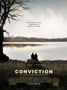 Kết Án Conviction.Diễn Viên: Hilary Swank,Sam Rockwell And Melissa Leo