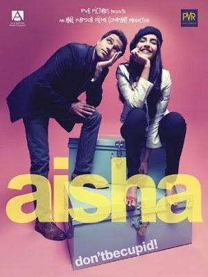 Tình Yêu Của Aisha Aisha.Diễn Viên: Sonam Kapoor,Abhay Deol,Amrita Puri,Cyrus Sahukar,Arunoday Singh