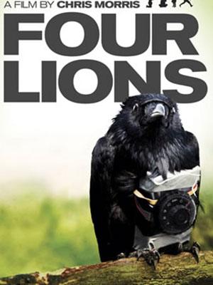 Bốn Con Sư Tử Four Lions.Diễn Viên: Will Adamsdale,Riz Ahmed And Adeel Akhtar